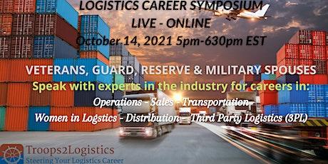 Troops2Logistics: Logistics Career Symposium tickets