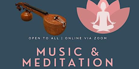 Music & Meditation tickets