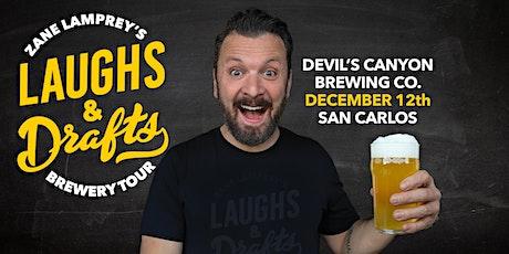 DEVIL'S CANYON BREWING •  Zane Lamprey's  Laughs & Drafts  • San Carlos, CA tickets