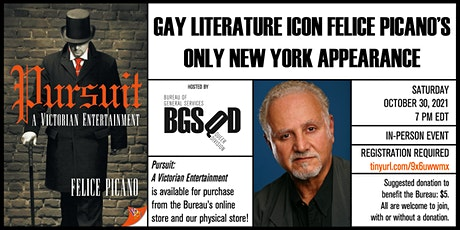 Gay Literature Icon Felice Picano's Only New York Appearance tickets