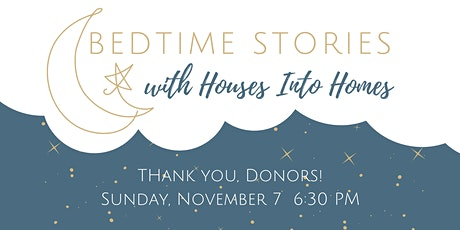 Bedtime Stories: Donor Appreciation Celebration tickets