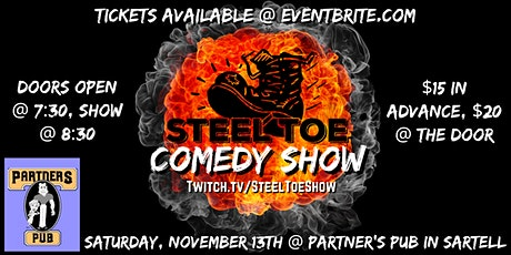 Steel Toe Comedy Show: St. Cloud's only real Comedy Show tickets