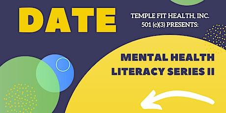 Mental Health Literacy Series 2 tickets