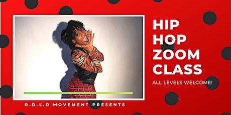 ONLINE - Beginning/Intermediate level  Hip  Hop Dance Class - RDLD MOVEMENT tickets