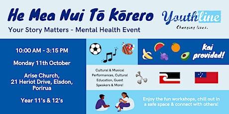 He Mea Nui Tō Kōrero - Your Story Matters tickets
