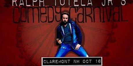 "Ralph Tutela Jr.'s ""Comedy Carnival"" tickets"