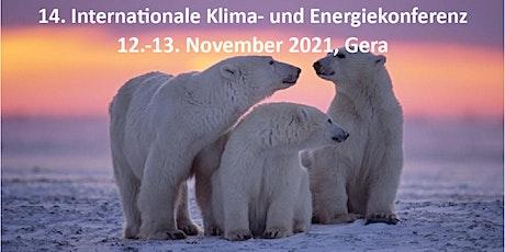 14. Internationale EIKE Klima- und Energiekonferenz, IKEK-14, in Gera Tickets