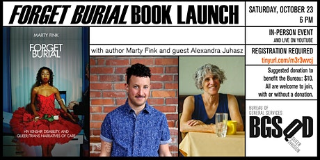 Forget Burial Book Launch tickets