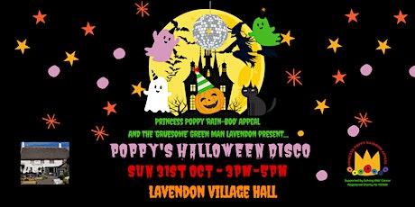 Princess Poppy's Halloween Disco! tickets