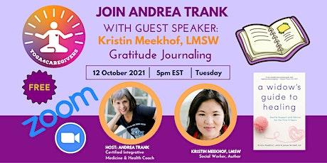 Gratitude Journaling with Kristin Meekhof, LMSW tickets