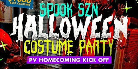 PV HOMECOMING KICKOFF : SPOOKY SZN COSTUME PARTY tickets