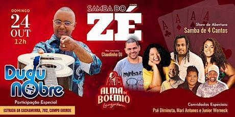 Samba do ZÉ com Dudu Nobre ingressos
