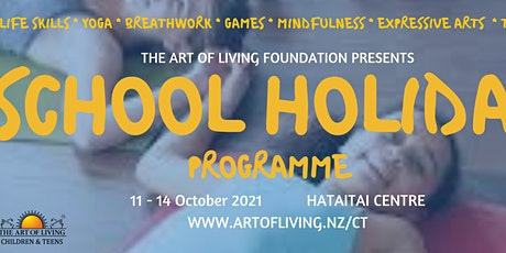 School Holiday Programme for Kids/teens (8-17 years) - Mindfulness tickets