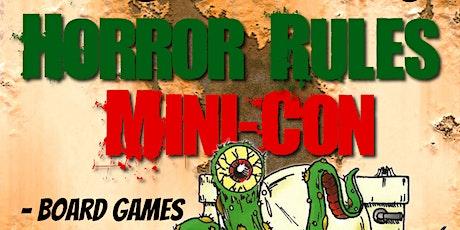Horror Rules Mini-Con 2021 tickets