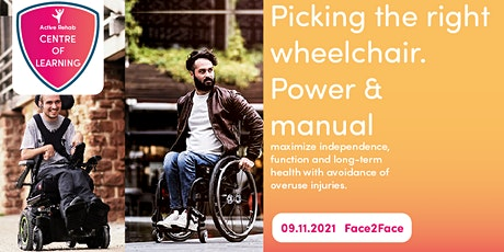 Picking the Right Wheelchair, Power and Manual tickets