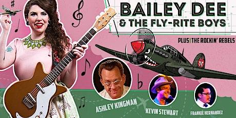Award Winning Bailey Dee & The Fly-Rite Boys, Plus The Rockin' Rebels tickets