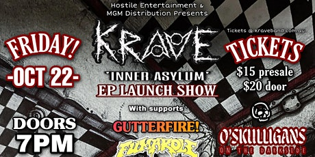 Krave 'Inner Asylum' EP Launch Show tickets