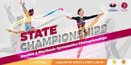 Session 2: 2021 Gymnastics Queensland RG & AER State Championships tickets