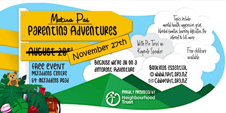 Parenting Adventures tickets