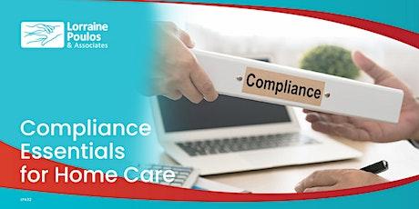 Compliance Essentials for Home Care ingressos