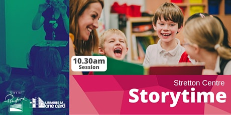 Storytime :  10.30am Stretton Centre Library tickets