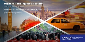 Studiare inglese all'estero - Incontro Informativo...