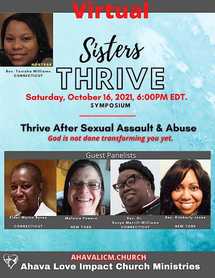 Sisters Thrive Symposium 2021 image