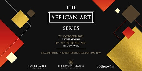 The African Art Series (Public Viewing) tickets