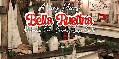 November 5-7 Conway Bella Rustina Modern Vintage Market tickets
