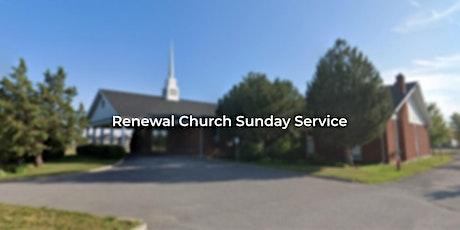 Renewal Church Sunday Service tickets
