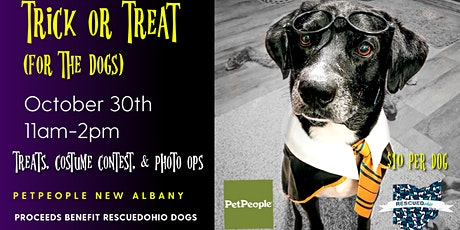 Trick or treat presented by RESCUEDohio and Pet People New Albany tickets