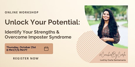 Unlock Your Potential: Identify Your Strengths & Overcome Imposter Syndrome tickets