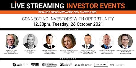 Finance News Network Investor Event entradas