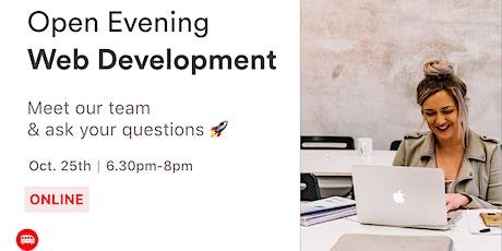 Open Evening: Le Wagon's Web Development Bootcamp tickets
