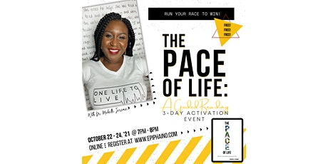 The Pace of Life: A 3-Day Guided Reading Event (October 22 - 24, 2021) tickets