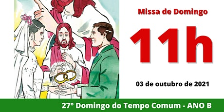 03/10 Missa 11h ingressos