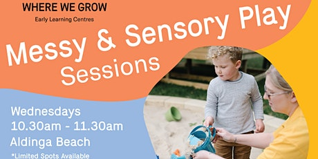 Stay & Play at Aldinga | Messy and Sensory Play Sessions tickets