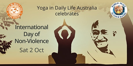 FREE ONLINE - UN Day of Non-violence | Satsang & Meditation Tickets