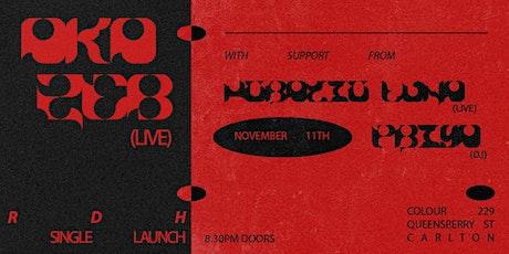 Aka Zeb's 'RDH' single launch featuring Horatio Luna and priya tickets