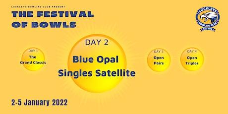 Blue Opal Singles Satellite tickets