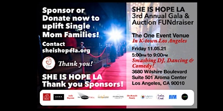 Copy of SHE IS HOPE LA 3rd Annual Gala & Auction FUNdraiser tickets