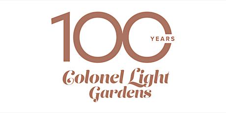 Colonel Light Gardens 100 years - Speaker Dr Christine Garnaut tickets