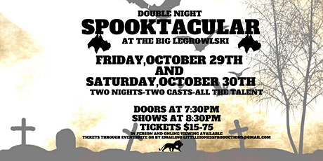 Double Night  Spooktacular 2021 tickets