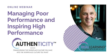 Managing Poor Performance and Inspiring High Performance - Webinar tickets