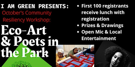 Eco-Art & Poets in the Park tickets