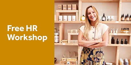 Free HR Workshop: Setting up your Business for Success - Armadale tickets