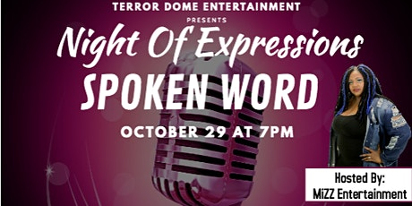 Night Of Expressions Spoken Word tickets