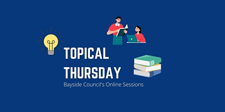 Lunch and Learn: Topical Thursday - Bayside Community Profile tickets