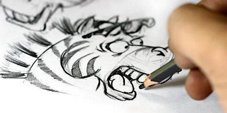 CARTOONING SAFARI(Drawing African Animals Cartooning Workshop) tickets
