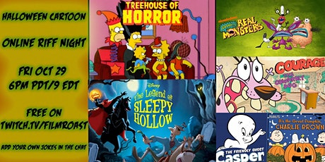 Free Online Riff of Halloween Cartoons tickets